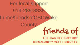 Copy of The cancer support community Wake county
